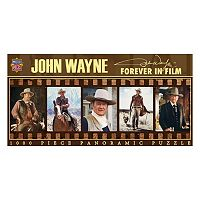MasterPieces John Wayne: Forever in Film 1,000 pc Panoramic Jigsaw Puzzle