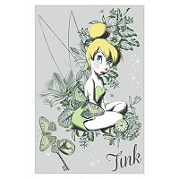 Disney Fairies Tinker Bell 6-piece Peel and Stick Wall Decals Set