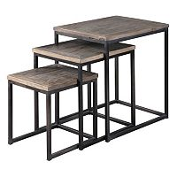 3-piece Bomani Nesting Table Set