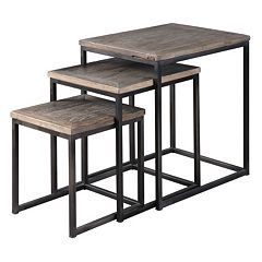 3 pc Bomani Nesting Table Set