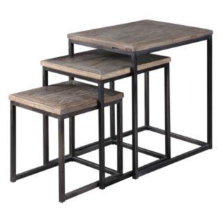 3-piece Bomani Nesting Table Set