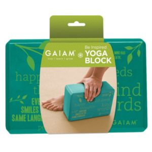 Gaiam Be Inspired Yoga Block