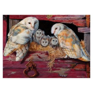 Barn Owls 1,000-pc. Jigsaw Puzzle