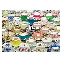Tea Cups 1,000-pc. Jigsaw Puzzle