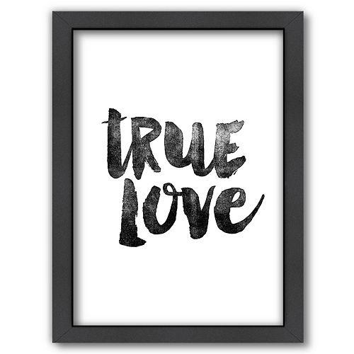 Americanflat ''True Love'' Framed Wall Art
