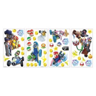 Mario Kart 8 44-piece Peel and Stick Wall Decal Set