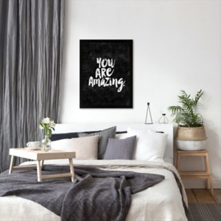 Americanflat ''You Are Amazing'' Framed Wall Art