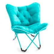 Simple by Design Memory Foam Butterfly Chair