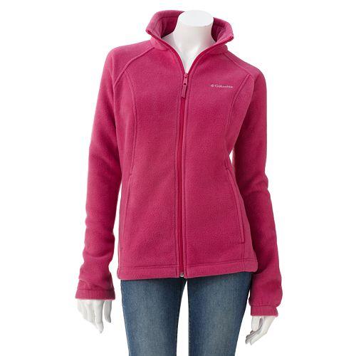 Women's Columbia Solid Fleece Jacket