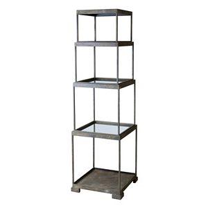 Friedman Etagere 4-Shelf Bookcase