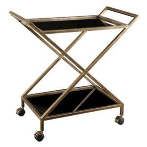 Baxton Studio Jaden Rolling Kitchen Cart Clasp Deal