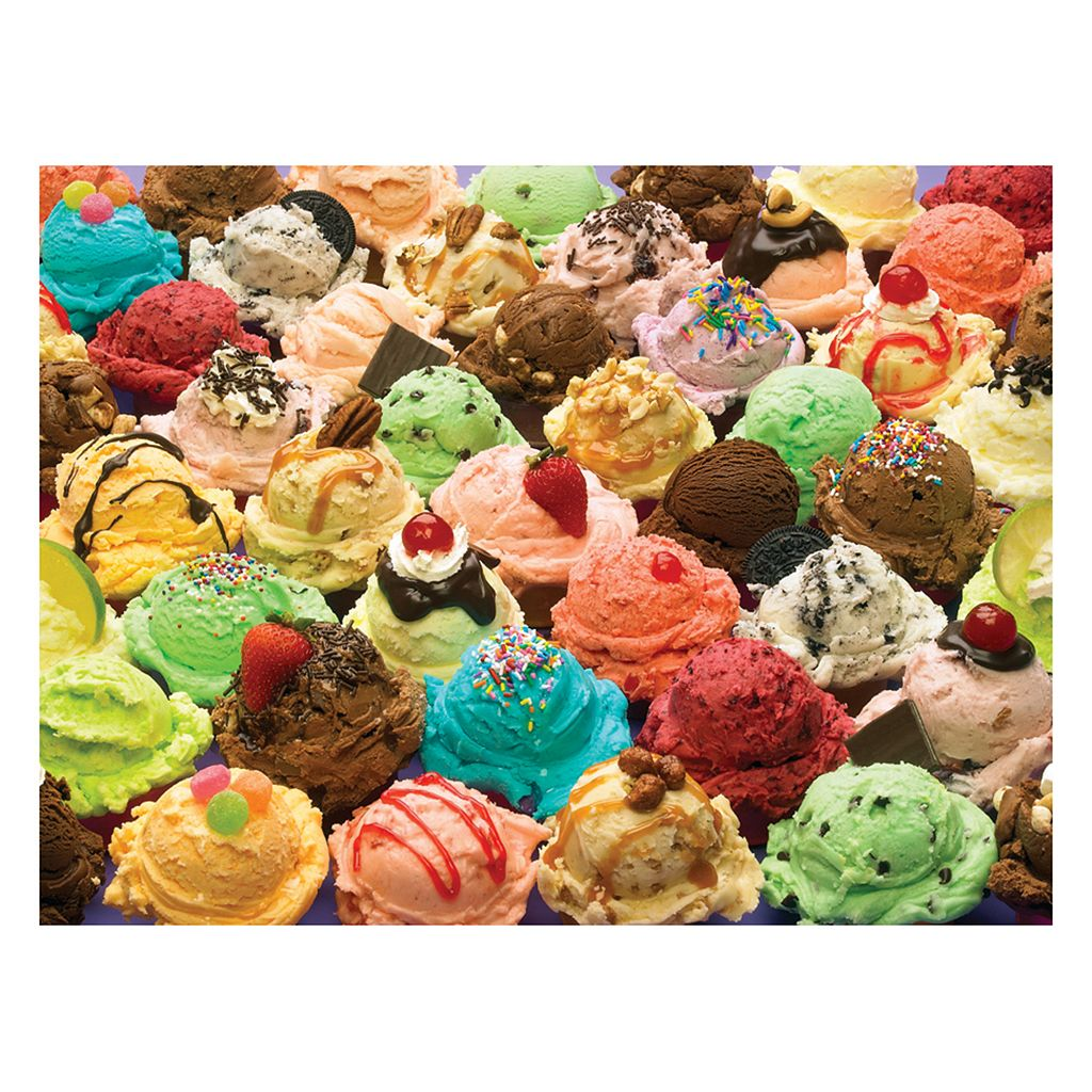 More Ice Cream 400-pc. Jigsaw Puzzle