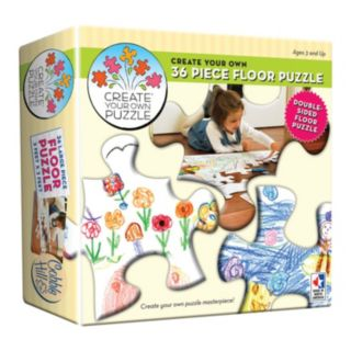 Create Your Own Double-Sided 36-pc. Floor Puzzle