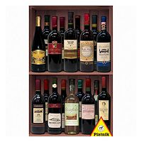 Piatnik Wine Bottles 1000-pc. Jigsaw Puzzle