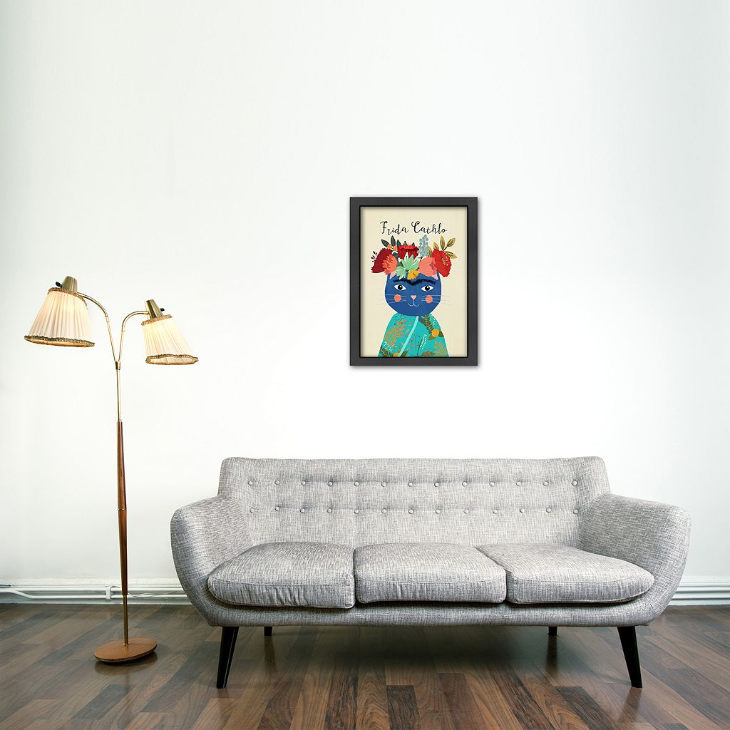 Americanflat ''Frida Cathlo'' Framed Wall Art