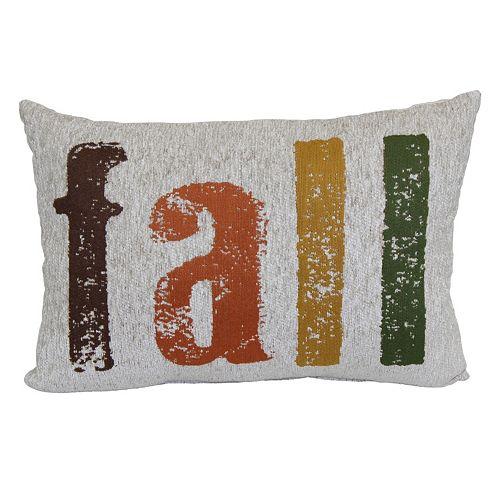 Harvest ''Fall'' Oblong Throw Pillow