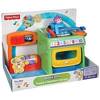 Fisher-Price Laugh & Learn Puppy's Numbers Garage