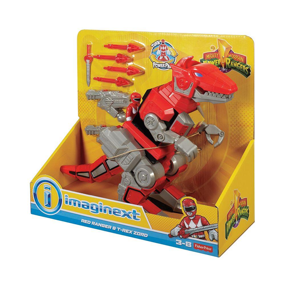 Power Rangers Bedroom Decor Price Imaginext Power Rangers Red Ranger T Rex Zord