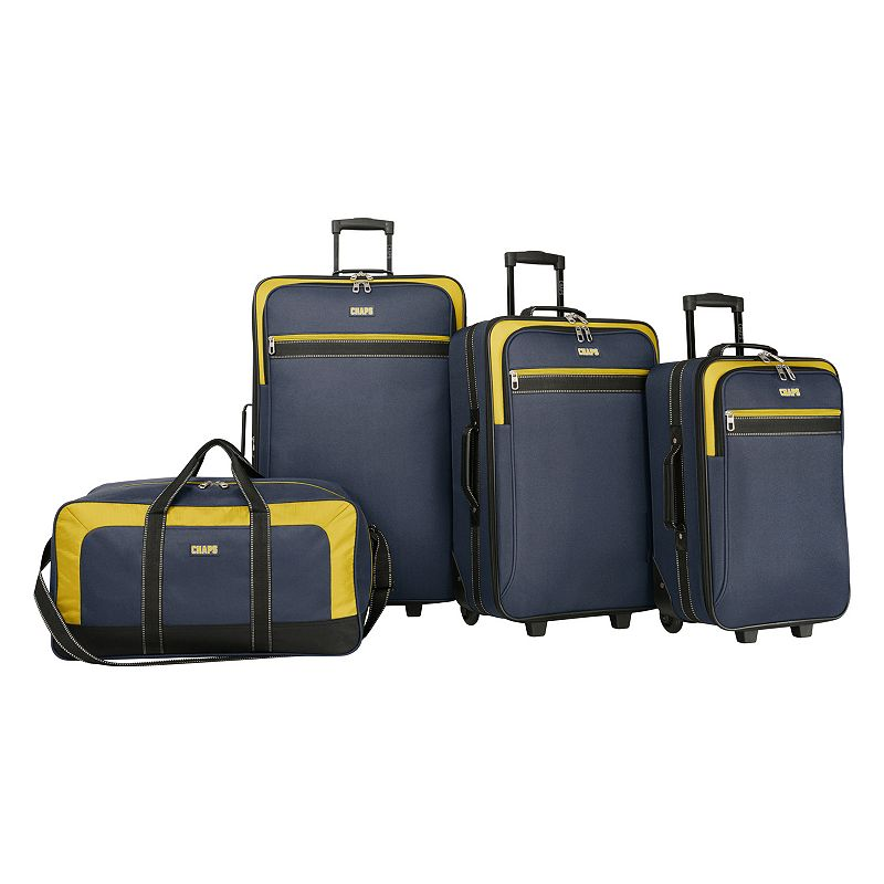 Chaps Milestone 4-Piece Luggage Set