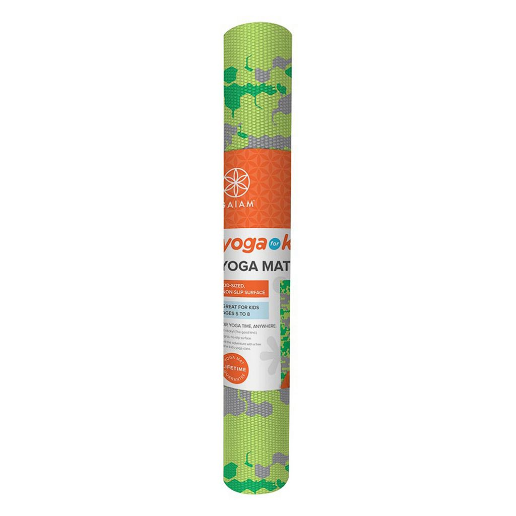 Gaiam 3mm Camouflage Yoga Mat - Kids