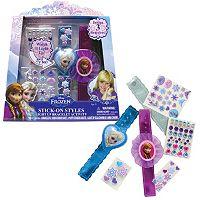 Disney's Frozen Stick On Styles Light-Up Bracelet Activity Kit
