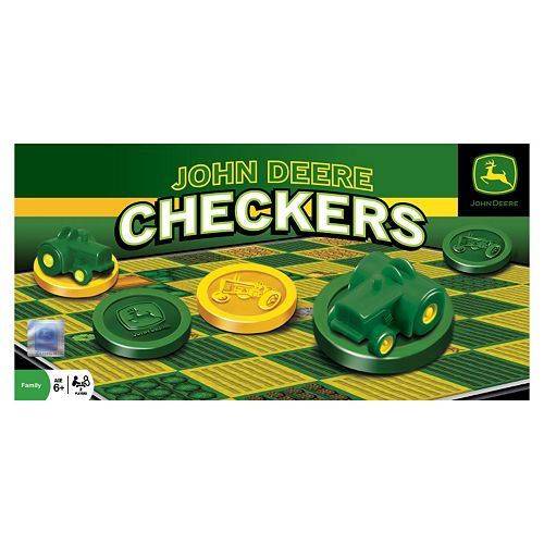 John Deere Checkers Game by MasterPieces