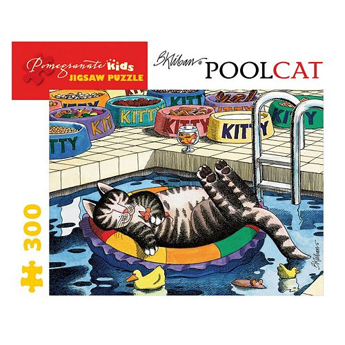 Pomegranate Pool Cat 300-pc. Jigsaw Puzzle