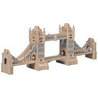 London Tower Bridge 104-pc. 3D Wooden Puzzle by Puzzled