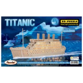 Titanic 178-pc. 3D Wooden Puzzle by Puzzled