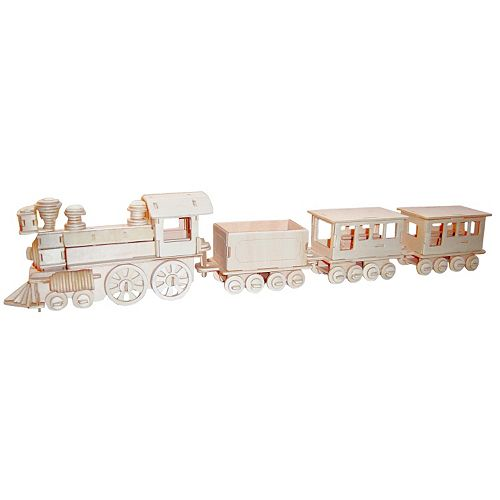 Train 233-pc. 3D Wooden Puzzle by Puzzled