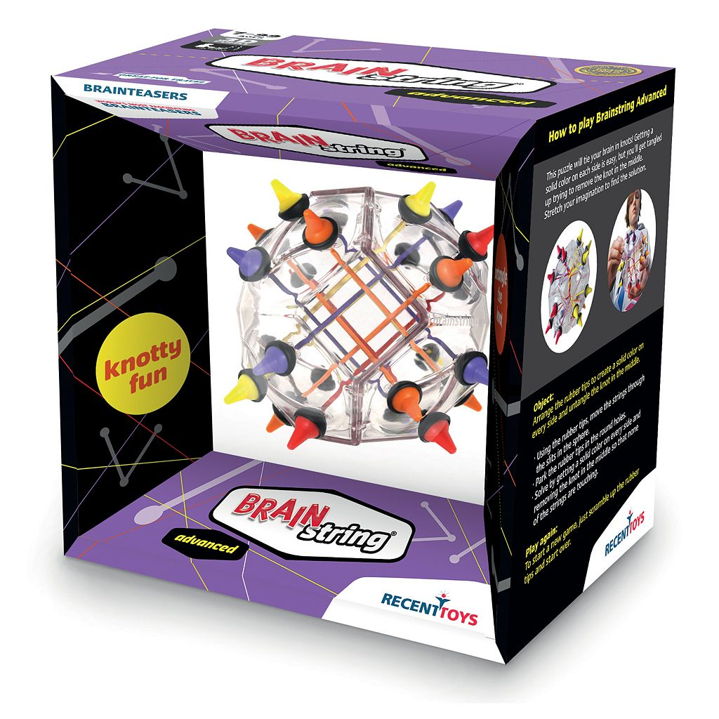 Brainstring Brain Teaser Advanced by Recent Toys