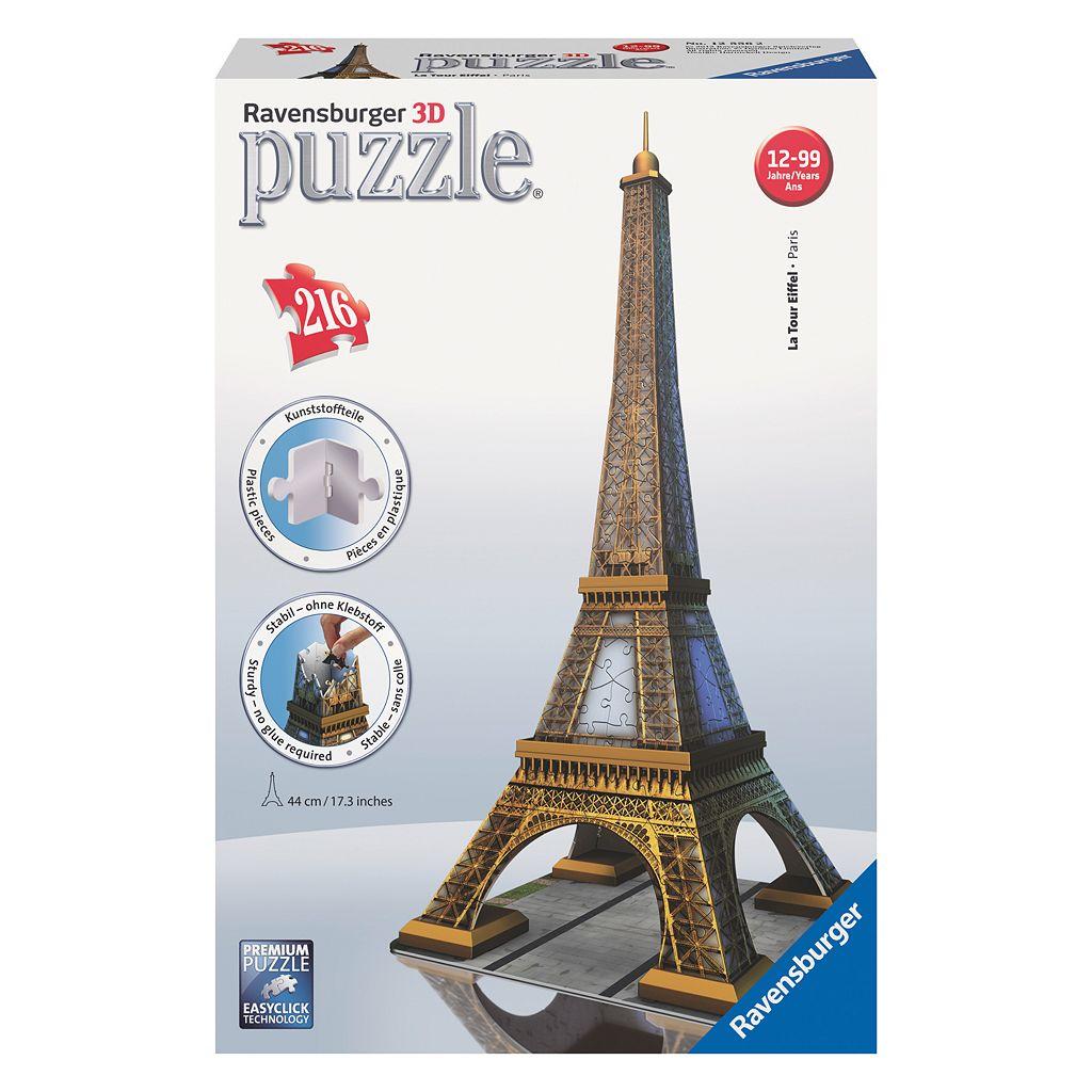 Ravensburger Eiffel Tower 216-pc. 3D Puzzle Building Set