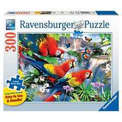 Ravensburger Tropical Birds 300 pc Large Piece Jigsaw Puzzle