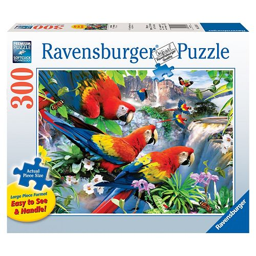 Ravensburger Tropical Birds 300-pc. Large Piece Jigsaw Puzzle