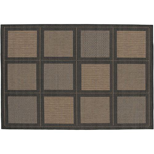 Couristan Summit Checkered Indoor Outdoor Rug