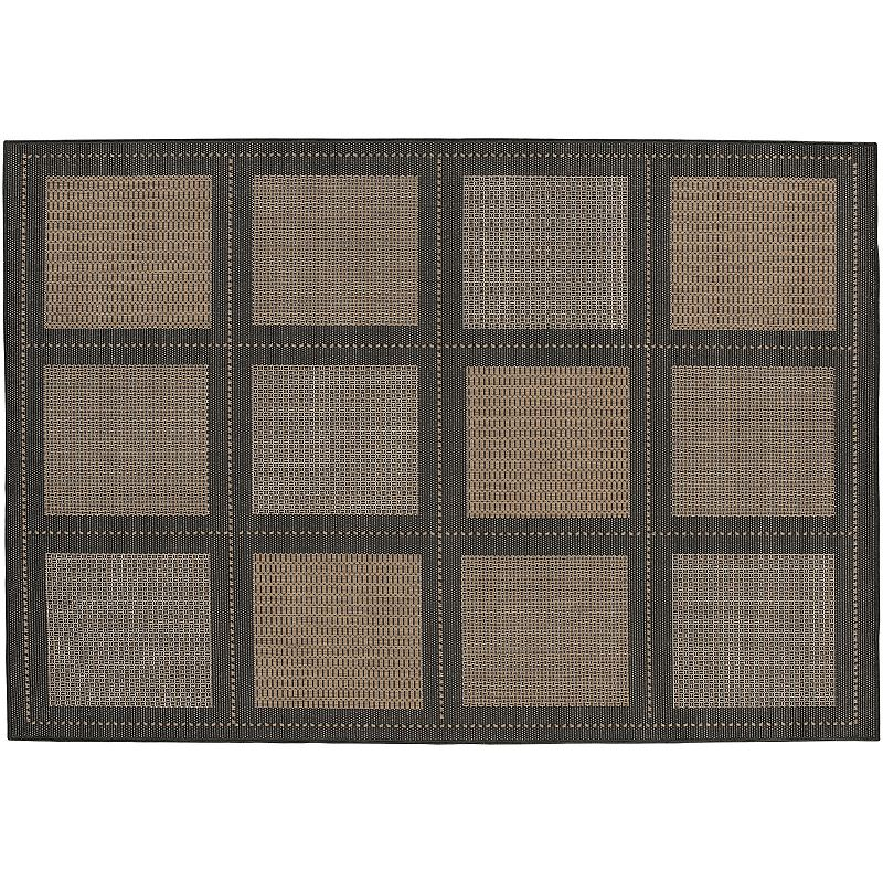 Couristan Summit Checkered Indoor Outdoor Rug, Brown, 2X12 Ft Always a classic. You'll enjoy using this Couristan checkered rug for years to come.FEATURES Indoor & outdoor use Water, mold, mildew & fade resistant Checkered pattern CONSTRUCTION & CARE Courtron polypropylene Spot clean Manufacturer's 1-year limited warrantyFor warranty information please click here Imported Attention: All rug sizes are approximate and should measure within 2-6 inches of stated size. Pattern may also vary slightly. This rug does not have a slip-resistant backing. Rug pad recommended to prevent slipping on smooth surfaces. . Size: 2X12 Ft. Color: Brown. Gender: unisex. Age Group: adult. Material: Synthetic.