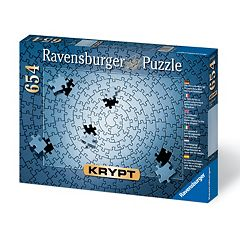 Ravensburger Krypt Blank Puzzle Challenge 654-pc. Jigsaw Puzzle by