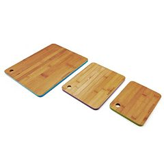 Farberware 3 pc Bamboo Cutting Board Set