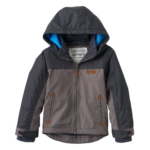 62c4baefa8c8 Baby Boy Carter s Hooded Fleece-Lined Jacket