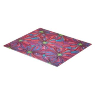 Farberware Floral Glass Cutting Board