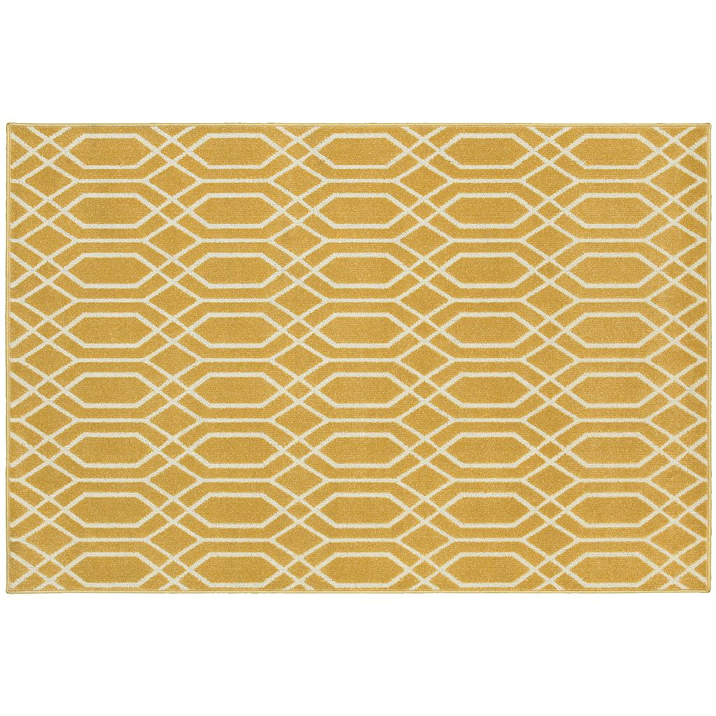 StyleHaven Longview Simple Lattice Indoor Outdoor Rug