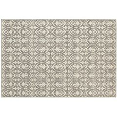 StyleHaven Longview Distressed Leaf Indoor Outdoor Rug