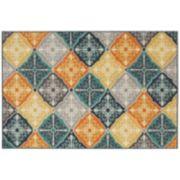 StyleHaven Longview Floral Panel Indoor Outdoor Rug