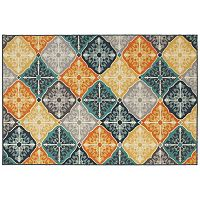 StyleHaven Longview Floral Panel Indoor Outdoor Rug