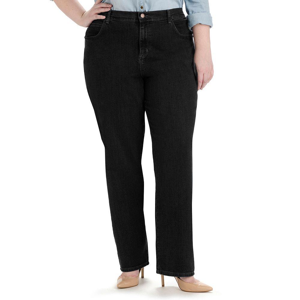 Plus Size Lee® Relaxed Fit Straight-Leg Jeans