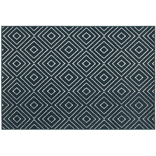 StyleHaven Longview Geometric Diamond Indoor Outdoor Rug