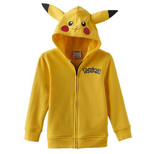 77c556197 Pokémon Pikachu Hoodie - Boys 4-7