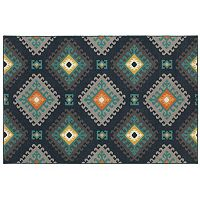 StyleHaven Longview Geometric Tribal Indoor Outdoor Rug