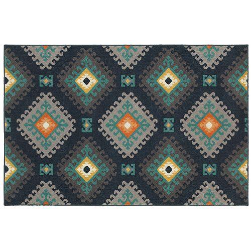 StyleHaven Longview Geometric Tribal Indoor Outdoor Rug