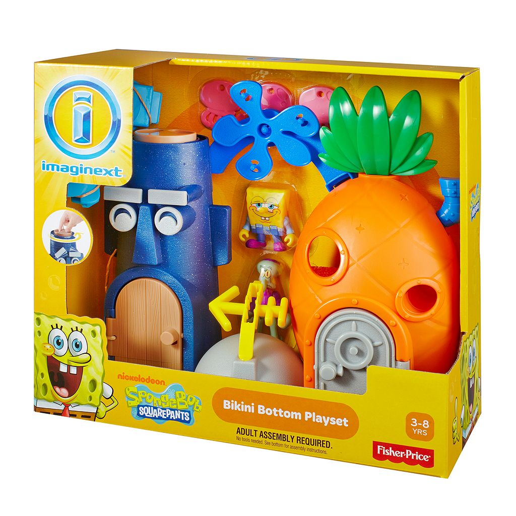 Fisher-Price Imaginext SpongeBob SquarePants Bikini Bottom Playset